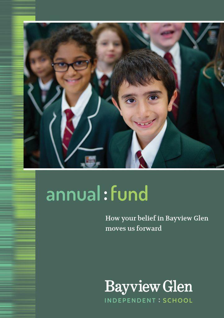 Annual fund brochure