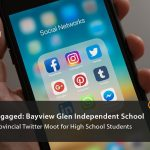 Most engaged: bayview glen independent school. OJEN's provincial twitter moot for high school students