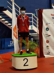 Terence Yeung '20 alumni spotlight table tennis