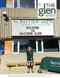 Oct 2021 The Glen Newsletter Cover
