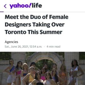 Christina Rakitzis '15 feature articles in Yahoo Style and Huff Magazine